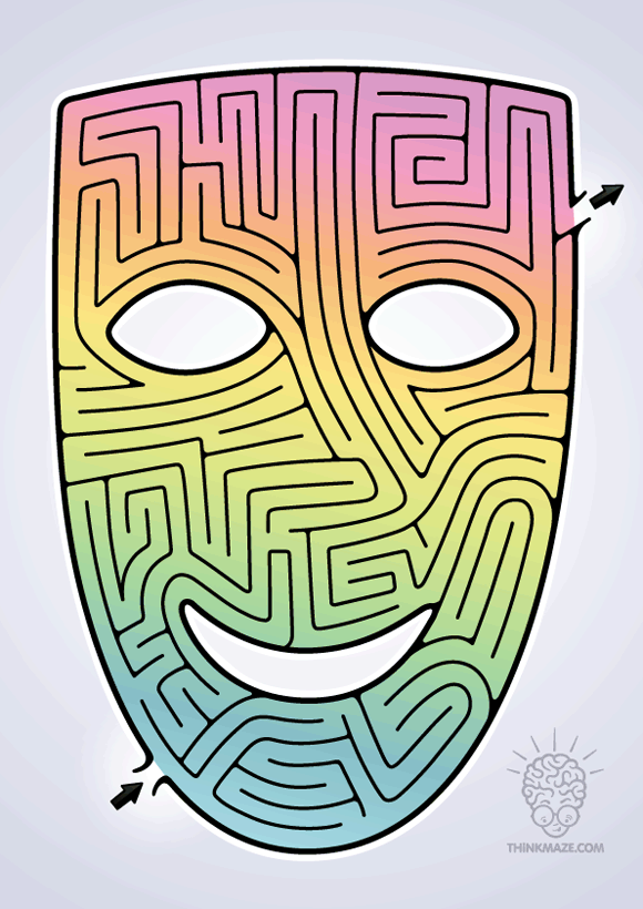 Mask Maze color